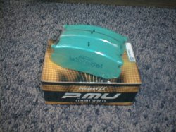 画像2: トヨタ AE86 トレノ&レビン用 プロジェクトu レーシングパッド