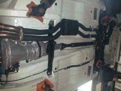 画像4: ハコスカ GT&GT-X ハーフステンレスデュアルマフラー50φ  在庫切れ