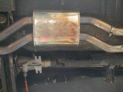 画像5: ハコスカ・X管 デュアルマフラー中間ストレートチューブ