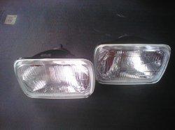 画像1: サニーB310  ハロゲン・ヘッドライトSet 角目2灯式ライト