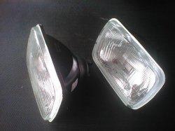画像1: AE86 トレノ 角目 2灯式ライト