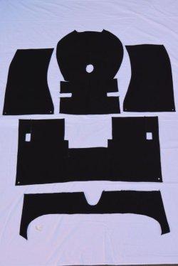 画像1: ブルーバード510 4drセダン用 フロアーカーペット5点セット