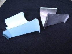 画像1: ハコスカ ロアパネル 左右 レストア用板金部品