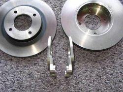 画像2: SP311&SR311 MK63ベンチローター&ブラケットセット
