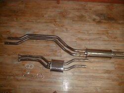 画像1: ハコスカ GT-R オールステンレスデュアルマフラー・バランスチューブ仕様